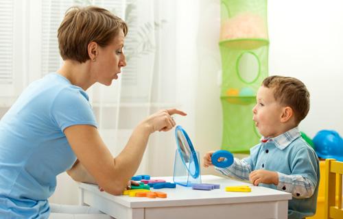 Логопедические занятия с ребенком
